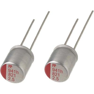 Aluminium Polymer Kondensator  UCC  560uF 6,3V   6,3x8mm  8mR  NEW  #BP 10 pcs