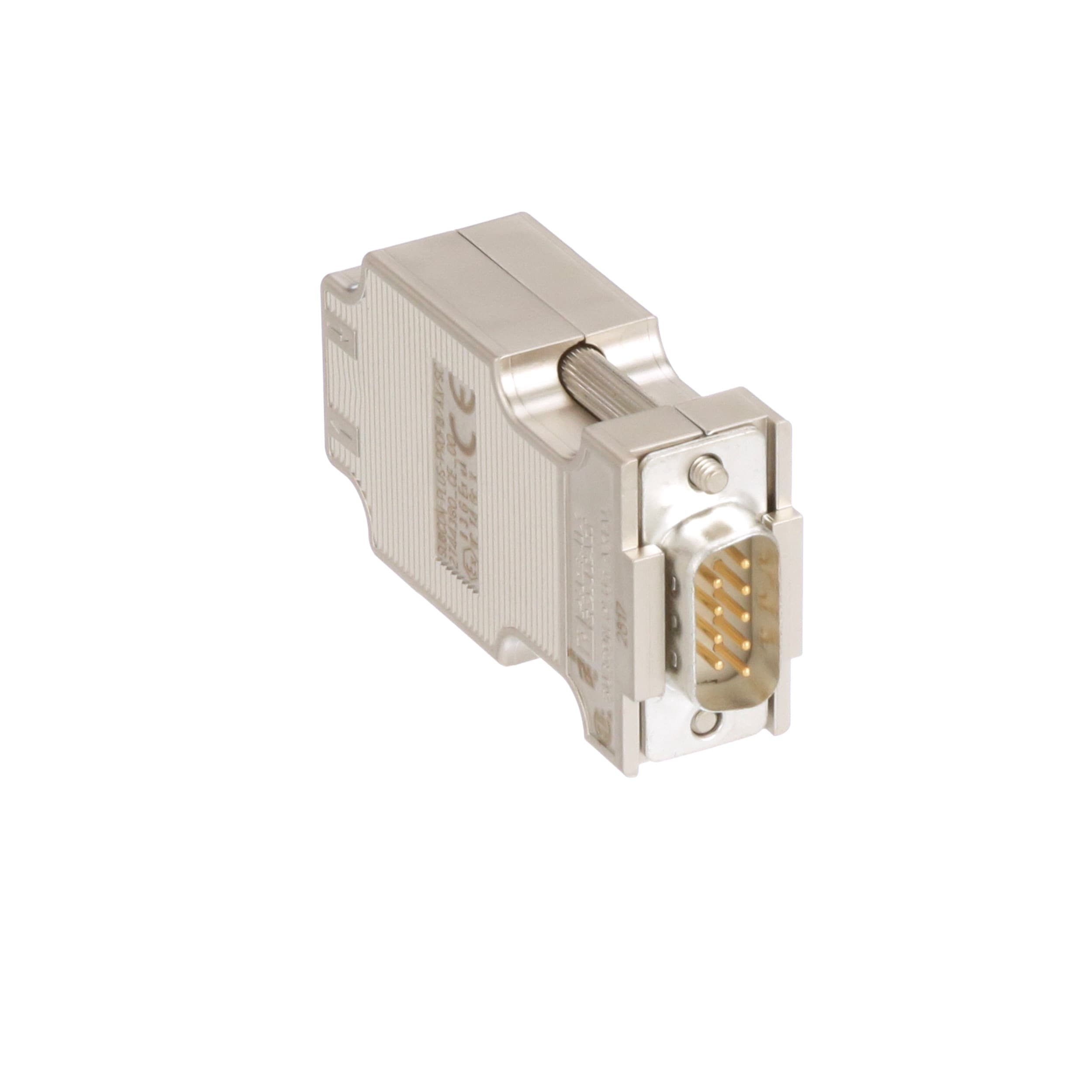 DB Pack of 5 D Sub Connector Housing 180-044-273L020 180-044-273L020 High Density D Sub 44 Positions Receptacle Steel Body 180 Series
