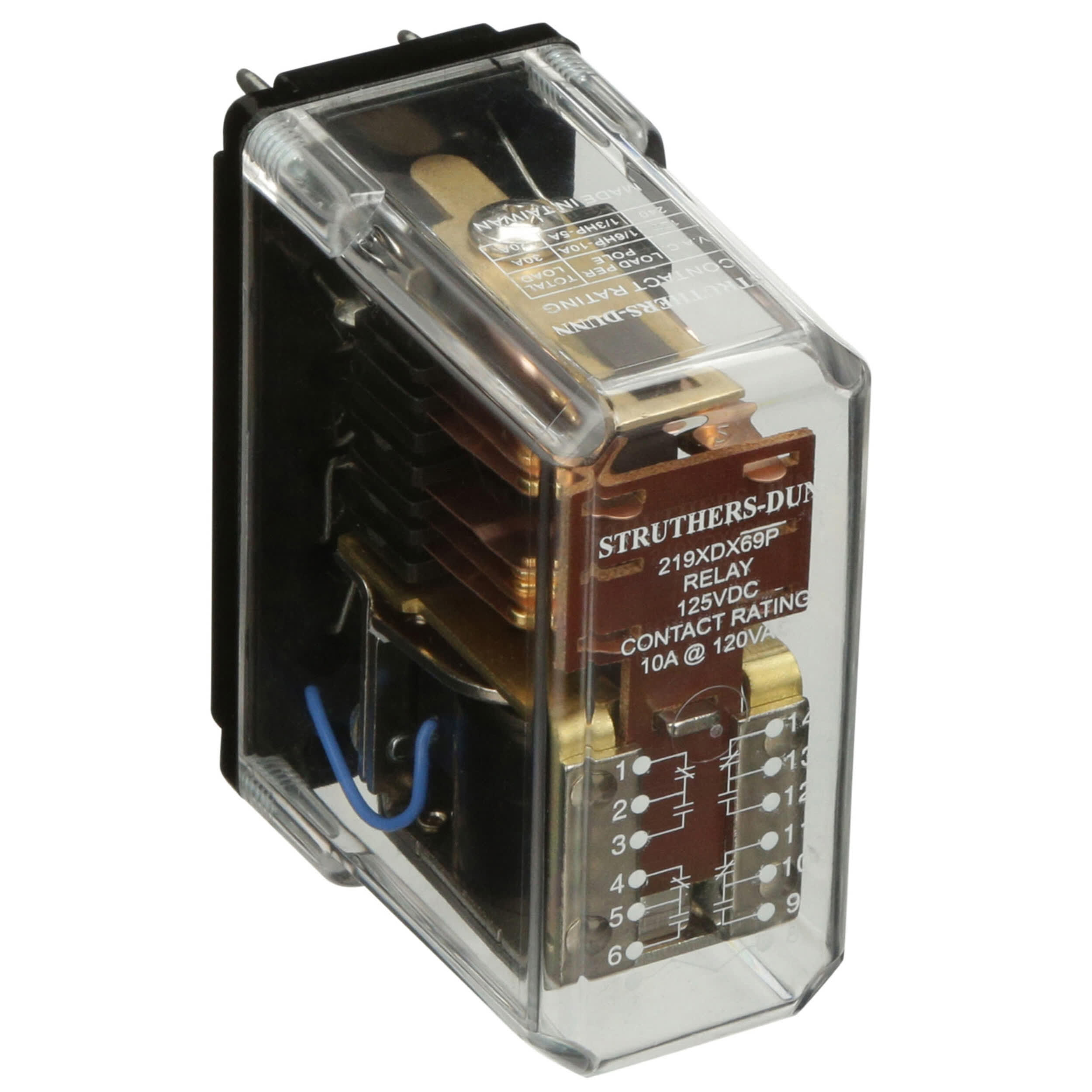 STRUTHERS-DUNN 219BBX69PL-125VDC