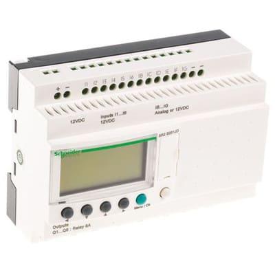 [DVZP_7254]   Schneider Electric - SR2B201JD - Smart Relay, Compact, 20 I/O, 12VDC,  w/Clock, w/Display, Zelio Logic SR2 Series - Allied Electronics & Automation   Zelio Smart Relay Wiring Diagram      Allied Electronics