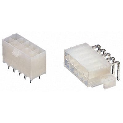 2 Rows 4.2 mm 5566 Series 39-29-0023 2 Contacts Pin Header Wire-to-Board Through Hole MOLEX Mini-Fit Jr