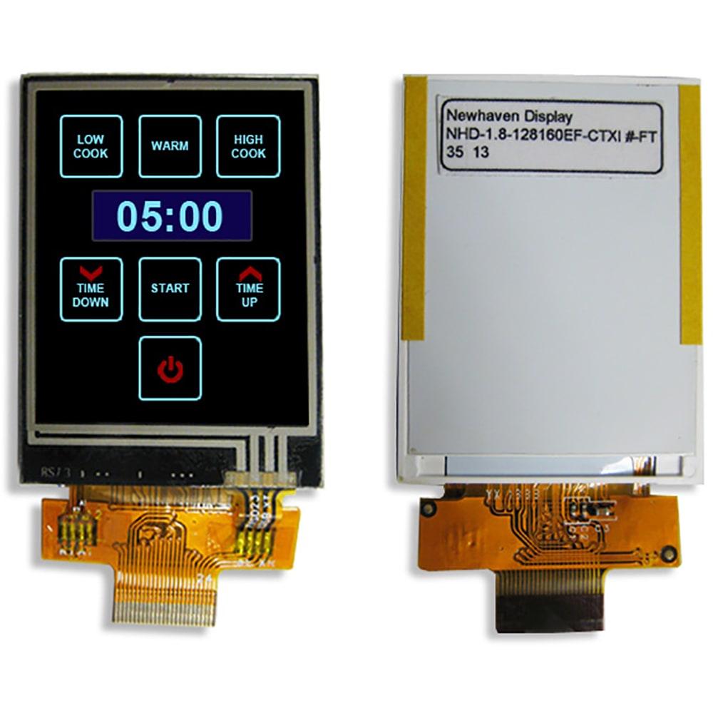 NEWHAVEN DISPLAY INTERNATIONAL NHD-2.4-240320CF-CTXI#-F TFT LCD Colour Display,
