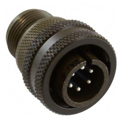 Contact; Conn; Industrial; Insert Plug; 7 Cont; Solder; Sh-Sz 28; 97 Series