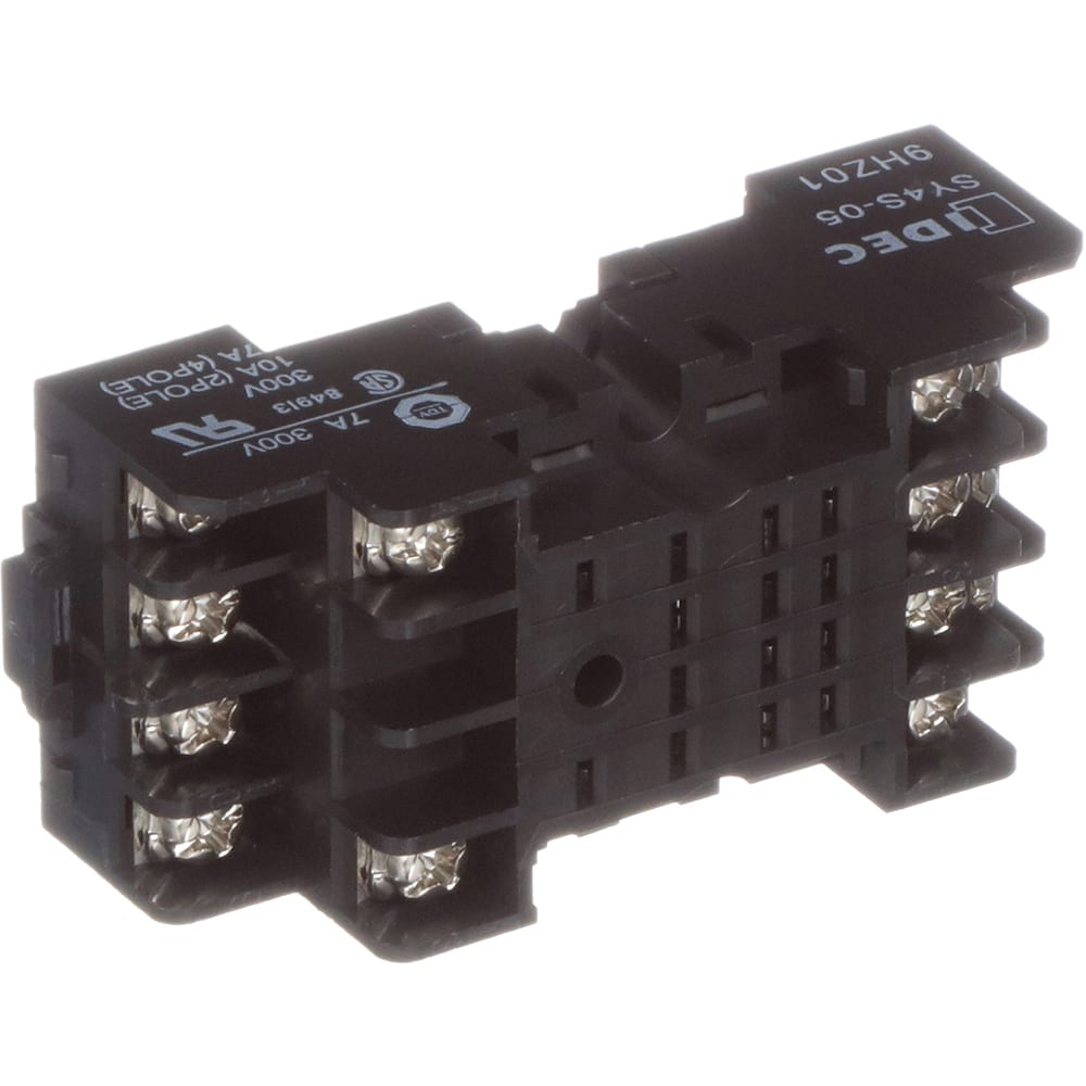 SY4S-05 Idec Relay Base Wiring on omron relay wiring, dpdt relay wiring, siemens relay wiring, finder relay wiring, bosch relay wiring, allen bradley relay wiring, pilz relay wiring, spdt relay wiring, amp relay wiring, crydom relay wiring, honeywell relay wiring, 120v relay wiring,