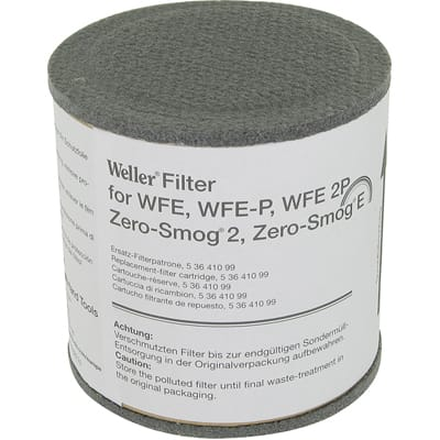 Black Apex Tool Group Weller 0053642199 Fume and Smoke Extractor Filter