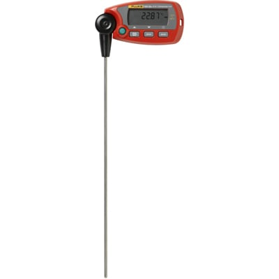 RTD Thermometer,-58 to 320F,Digital FLUKE 1551A-9