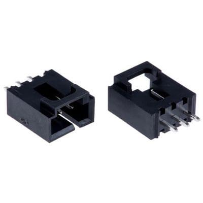 MOLEX 2-PIN SHROUDED CONNECTOR New Lot Quantity-100