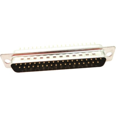Socket D PCB Straight 37 Way