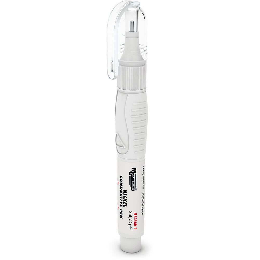 Nickel Conductive Pen Silver Ink Repair Writer Paint Conect Surface Fast Dry New