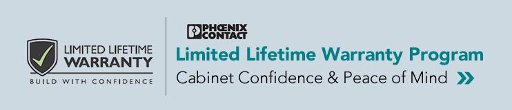 Phoenix Contact Limited Lifetime Warranty