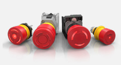 IP Rated E-Stops and Stop Switches for Harsh Environments