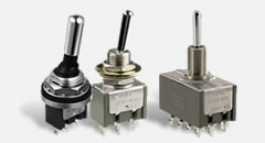 M Series Miniature Toggle Switches